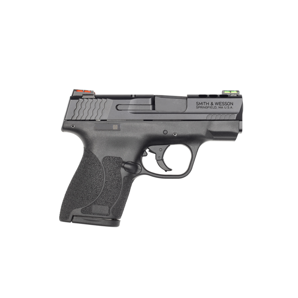 Smith & Wesson 11867 M&P Performance Center M2.0 9mm Luger 3.10 8+1  7+1 Black Armornite Stainless Steel Black Polymer Grip