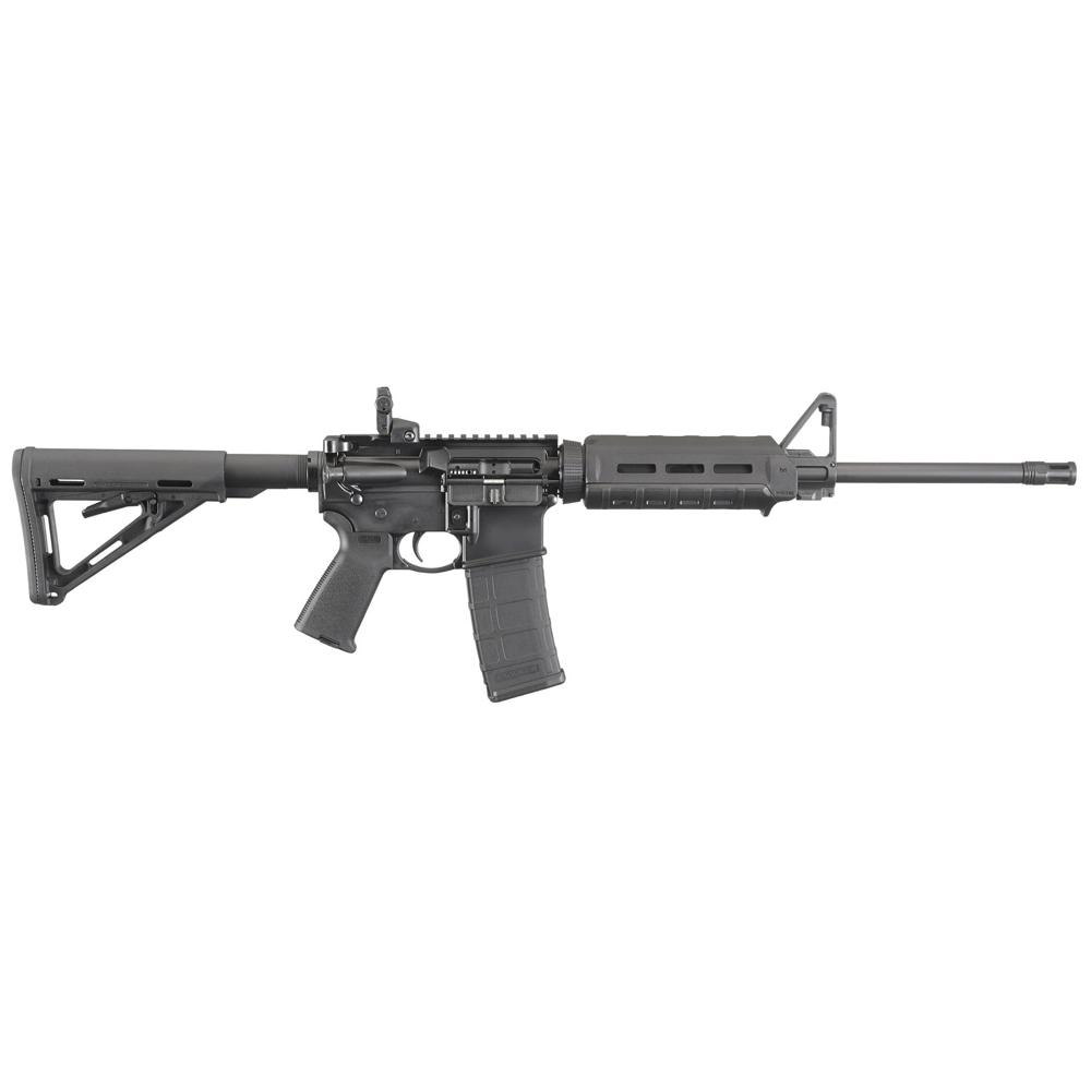 Ruger 8515 AR-556 5.56x45mm NATO 16.10 30+1 Black Hard Coat Anodized Adjustable